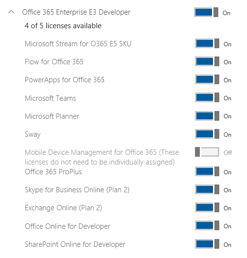 Assigning Office 365 License Options with PowerShell – Frank