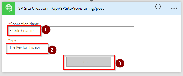 SharePoint Online Site Creation using Microsoft Flow and Azure
